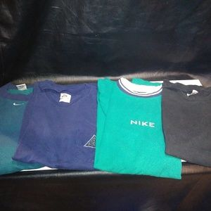 4 nike shirts